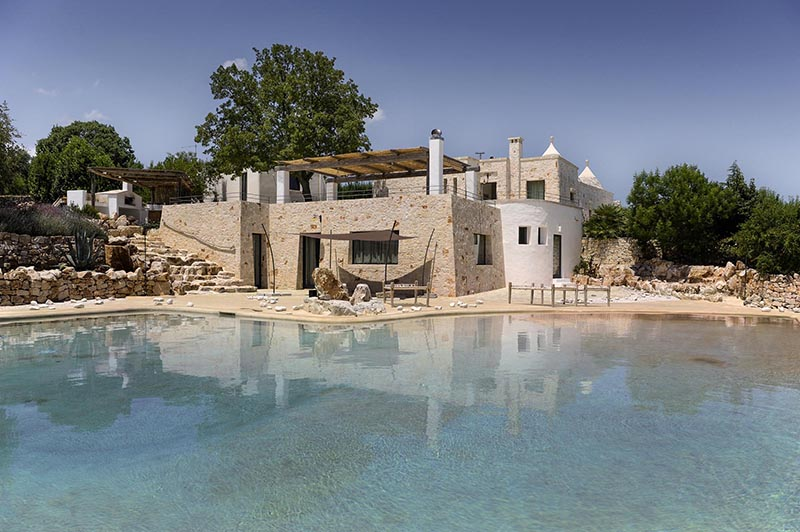 A dream swimming pool a stunning panoramic view a trullo trasformed into a stylish holiday home