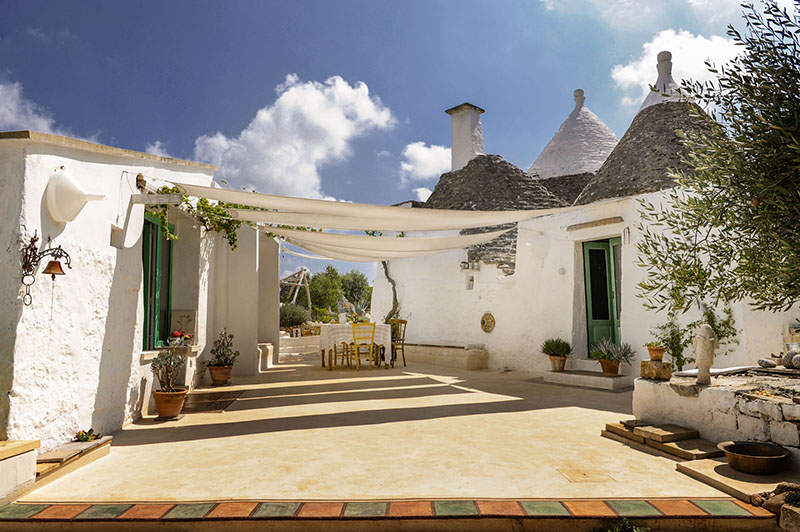 Couple of artists that made their trullo house a holiday home to experience in Puglia