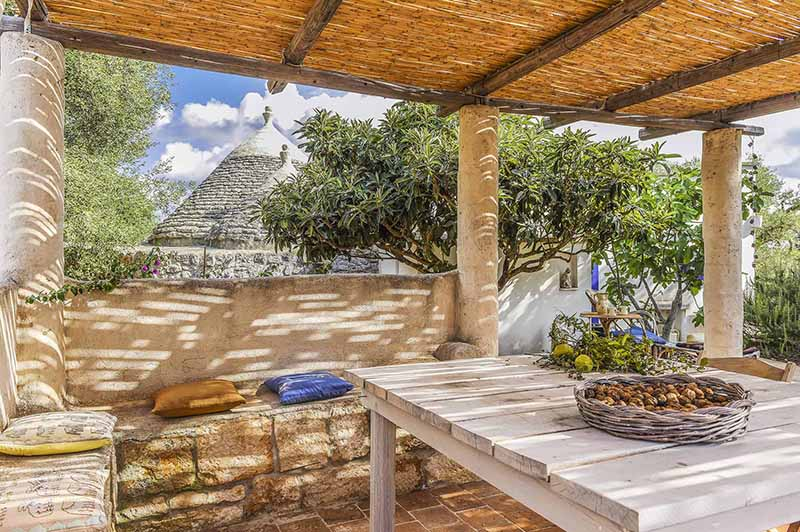 Trullo a la Brocante an unusual setting for your holiday in Puglia