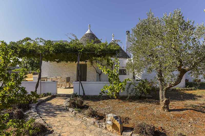 Holiday home in Puglia that tastes fresh and ancient for rent to travel in time